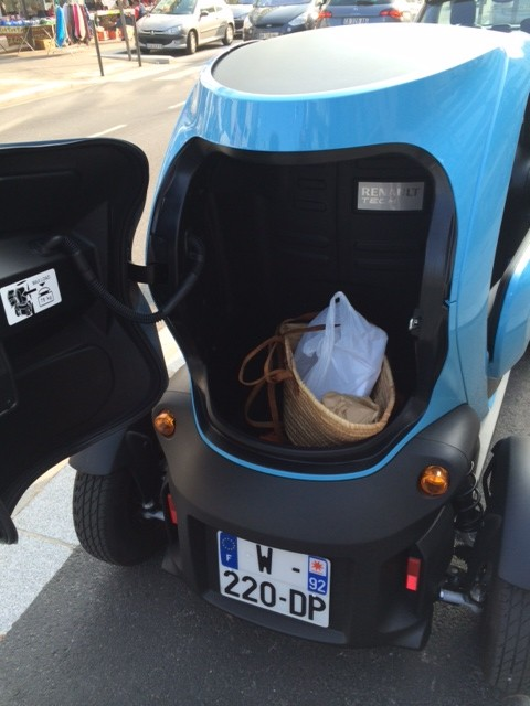 voiturelectrique.eu.twizy Cargo -photo 2