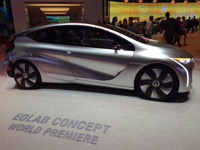 Renault Eolab, en vrai et en première mondiale
