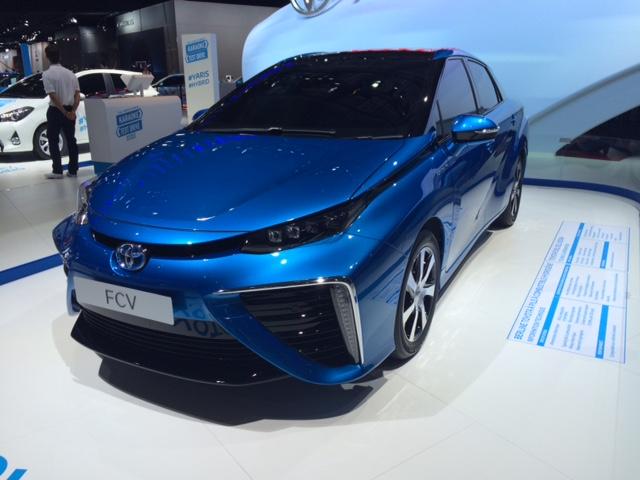 Toyota FVC à Hydrogène, dès 2015