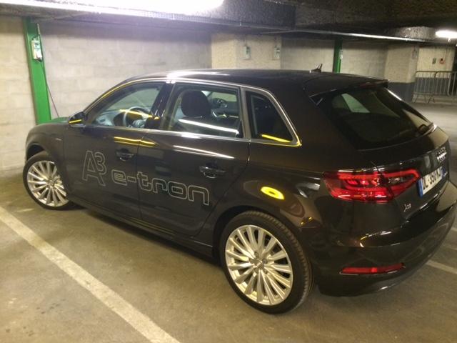 Audi a3 etron essai d 39 une hybride chargee a bloc for Garage audi 92 nanterre
