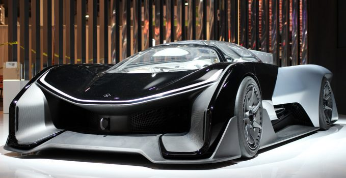 voiture lectrique et autonomie faraday future la startup prometteuse. Black Bedroom Furniture Sets. Home Design Ideas